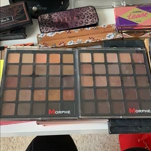 2 Gently used Morphe palettes only